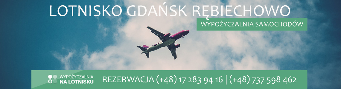 Wypożyczalnia aut lotnisko Gdańsk Rębiechowo