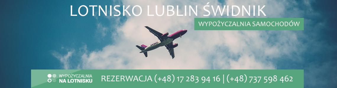 Wypożyczalnia aut lotnisko Lublin Świdnik