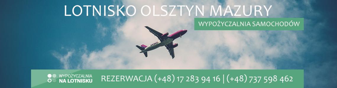 Wypożyczalnia aut lotnisko Olsztyn Mazury