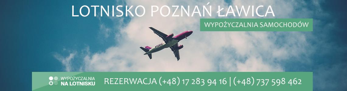 Wypożyczalnia aut lotnisko Poznań Ławica