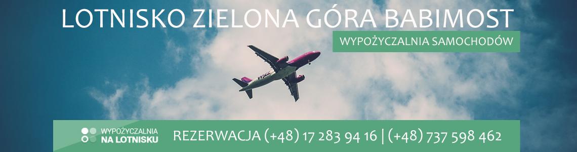 Wypożyczalnia aut lotnisko Zielona Góra Babimost